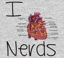 I heart nerds t-shirt or sticker by Domsbubble