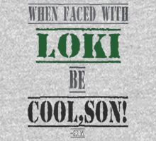 When faced with LOKI, be COOL,SON! by ShubhangiK