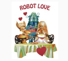 Robot Love (the shirt) by Nadya Johnson