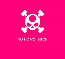 Yvette Horizon - Yo Ho Ho (pink) by spiteyourface