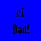 #1 Dad! in Blue by SpottiClogg