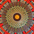 Pavilion Dome Ceiling at EPCOT - CHINA by Ray Chiarello