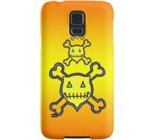 Percentum Skull & Xbones (sunset) Samsung Galaxy Case/Skin