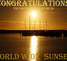 This is a Banner for Worldwide Sunsets challenge by Rocksygal52