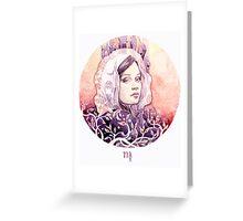 - Bella Virgo - Greeting Card