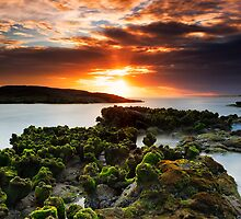 Anna Bay Afternoon - Sunset by Michael Howard
