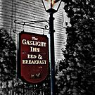The GasLight Inn Sign, Gettysburg PA by Jane Neill-Hancock