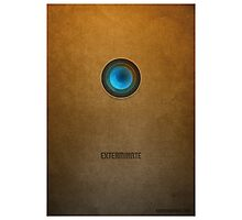 Doctor Who - Dalek Exterminate Photographic Print