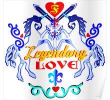 ۞»♥Unicorns: Legendary Love Prints, Cards & Posters♥«۞ Poster