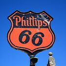 Route 66 - Phillips 66 Petroleum by Frank Romeo