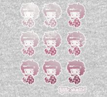 Little skulls multibaby tee by Medusa Dollmaker