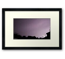 Lightning 2012 Collection 15 Framed Print