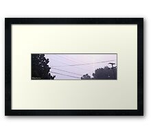 Lightning 2012 Collection 31 Framed Print