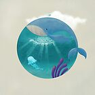Whale & Jellyfish by erdavid