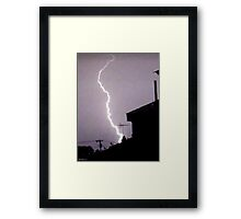 Lightning 2012 Collection 45 Framed Print