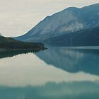 Tagish Lake in Fire Season by Yukondick