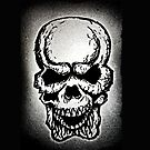 Skull iPhone by TheCroc1979