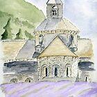 Senanque Abbey Provence by Eva  Ason