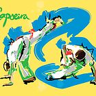 Capoeira Print by leannesore