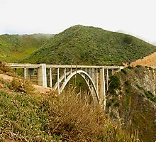 Bixby Creek Bridge, Big Sur, California by philw
