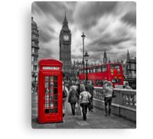 Busy London Canvas Print