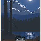 Summer Camp by stevethomasart