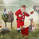 Aussie Bush Christmas by Trudi's Images