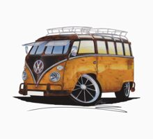 VW Splitty (23 Window) E by Richard Yeomans