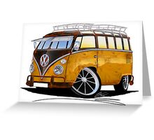 VW Splitty (23 Window) E Greeting Card