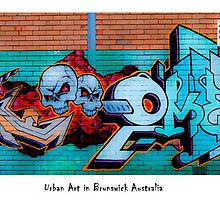 Urban Art In Brunswick by ezycardz