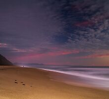 West Coast twilight by Paul Mercer