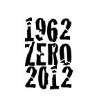 Celebrating New Zealands Victories in 1962 & 2012 - Black Print by SpottiClogg