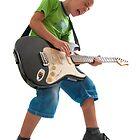 R'n'R kid with a guitar by Jenella