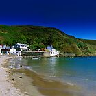 Porth Dinllaen from beach by Turtle  Photography
