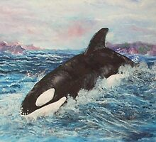 ORCA KILLER WHALE 2 by Stan  Brookfield