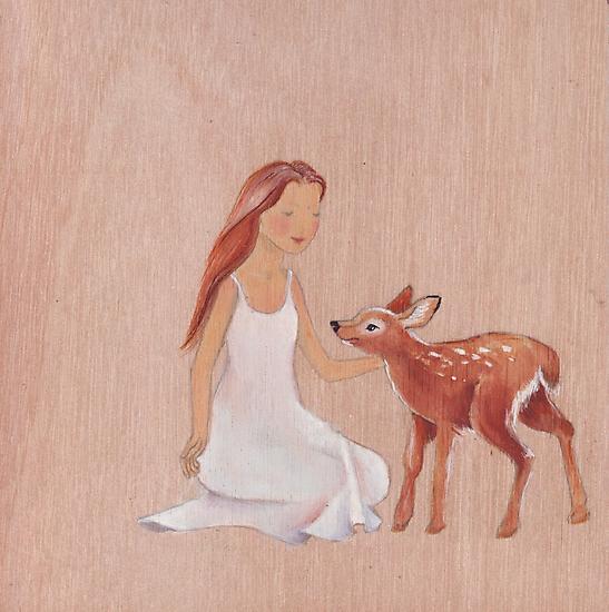 Innocence and trust  by Helga McLeod