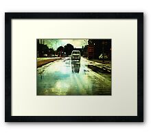 Once upon a Dutch rainy day Framed Print