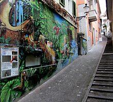 Graffiti @ Frankengasse, Zürich by bubblehex08