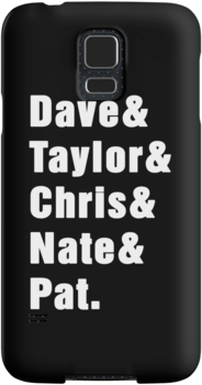 FOO FIGHTERS DAVE & TAYLOR & CHRIS & NATE & PAT. (WHITE) by DanFooFighter