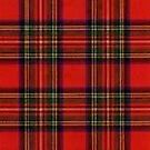 Red and Black Plaid by HighDesign
