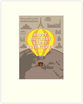 Happy Birthday Great Adventurer by springwoodbooks