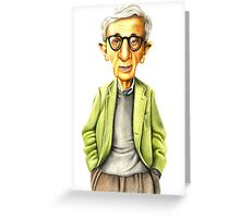 Woody Greeting Card