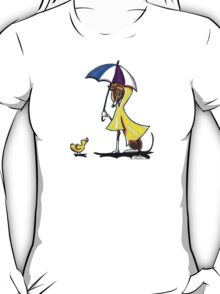 Italian Greyhound Day for a Duck T-Shirt
