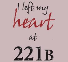 I Left My Heart at 221B by merrow