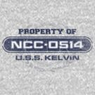 Property Of USS Kelvin by justinglen75