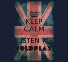 Colplay t-shirt keep calm by KeepItStupid