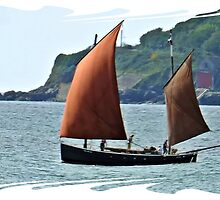 """"""" A Lugger leaving harbour"""" by mrcoradour"""