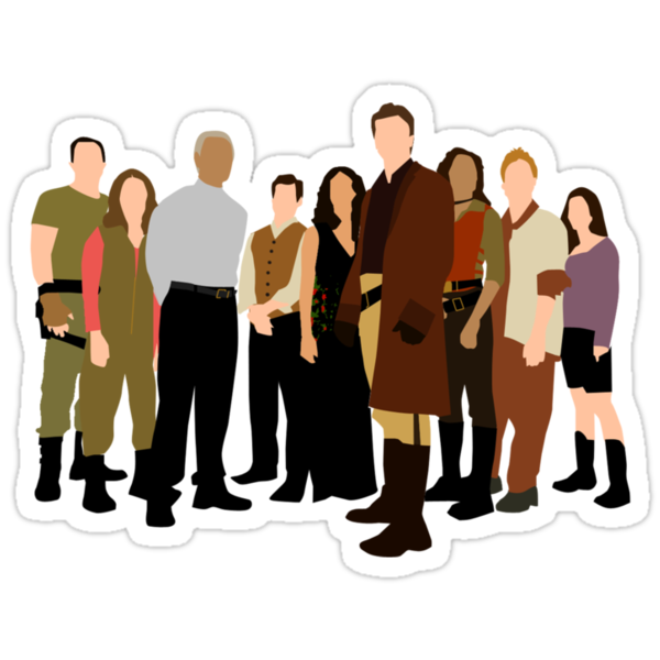 Firefly/Serenity crew by Zoe Toseland