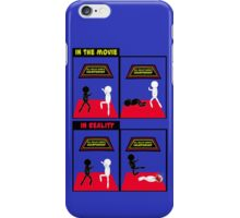 Karate Kid - Reality vs the movie iPhone Case/Skin