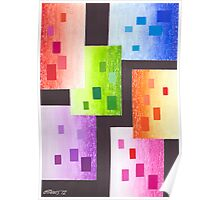 36 RECTANGLES Poster
